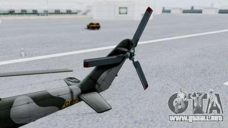Mi-24V GDR Air Force 45 para la visión correcta GTA San Andreas
