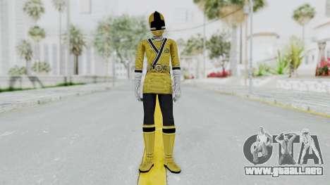 Power Rangers Samurai - Yellow para GTA San Andreas segunda pantalla