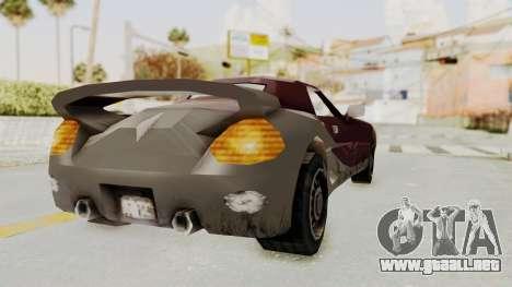 GTA 3 Yakuza Stinger para la visión correcta GTA San Andreas