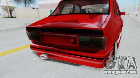 Dacia 1310 Tuning para GTA San Andreas vista hacia atrás
