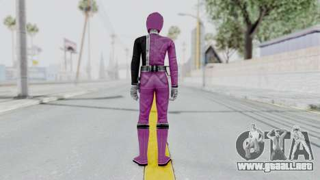 Power Rangers S.P.D - Pink para GTA San Andreas tercera pantalla