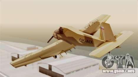 Z-37 Cmelak para GTA San Andreas left