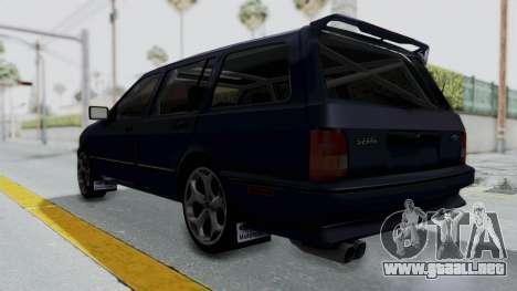 Ford Sierra Turnier 4x4 Saphirre Cosworth para la visión correcta GTA San Andreas