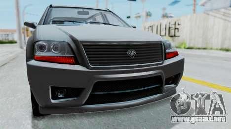 GTA 5 Benefactor Serrano IVF para visión interna GTA San Andreas