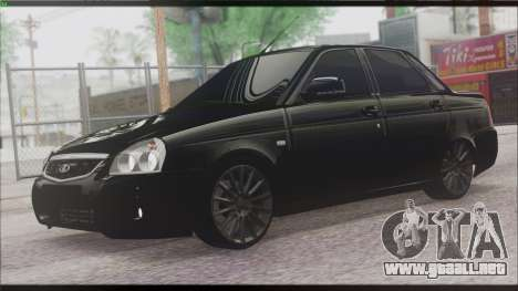 Lada Priora Sedan para GTA San Andreas left