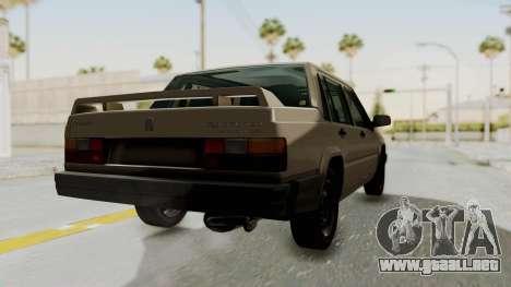 Volvo 740 para GTA San Andreas left