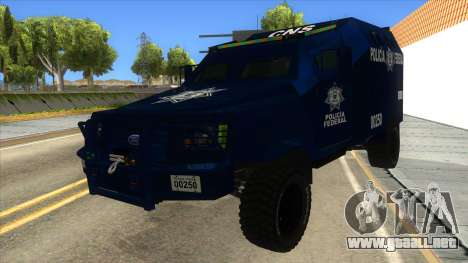 Black Scorpion Police para GTA San Andreas