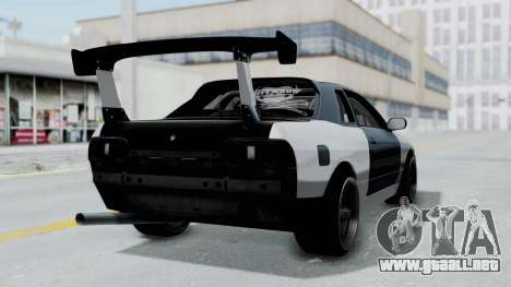 Nissan Skyline R32 Drift (H.A.R) para GTA San Andreas left