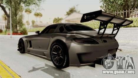 Mercedes-Benz SLS AMG GT3 PJ4 para GTA San Andreas left