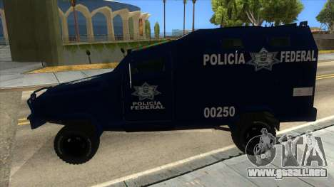 Black Scorpion Police para GTA San Andreas left