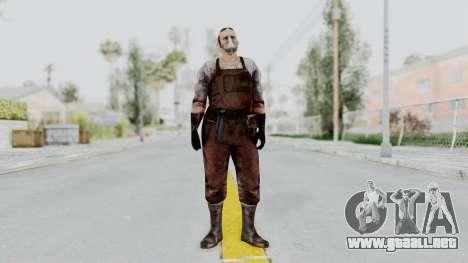 Manhunt 2 - Janitor para GTA San Andreas segunda pantalla