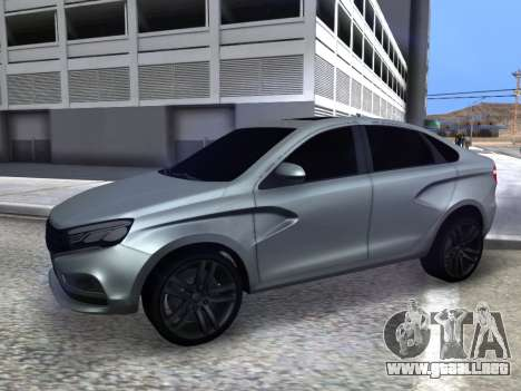 Lada Vesta HD (beta) para GTA San Andreas