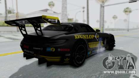 Mercedes-Benz SLS AMG GT3 PJ7 para las ruedas de GTA San Andreas