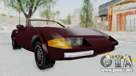 GTA VC Stinger para la visión correcta GTA San Andreas