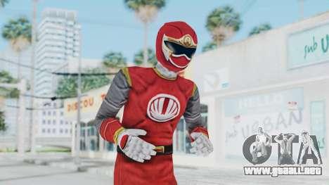 Power Rangers Ninja Storm - Red para GTA San Andreas