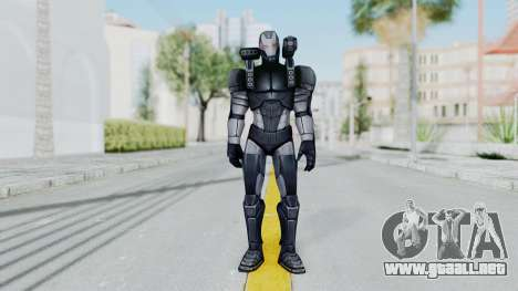 Marvel Future Fight - War Machine para GTA San Andreas segunda pantalla
