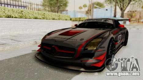 Mercedes-Benz SLS AMG GT3 PJ4 para el motor de GTA San Andreas