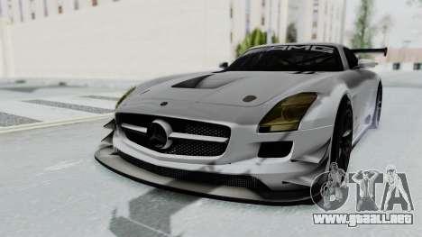Mercedes-Benz SLS AMG GT3 PJ7 para GTA San Andreas vista posterior izquierda