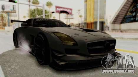 Mercedes-Benz SLS AMG GT3 PJ4 para la visión correcta GTA San Andreas