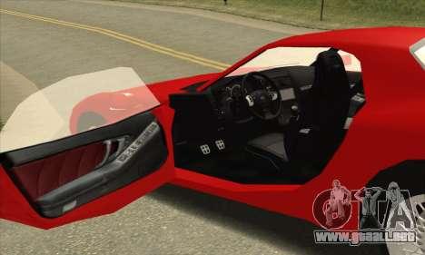 ZR - 350 para la visión correcta GTA San Andreas