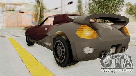 GTA 3 Yakuza Stinger para GTA San Andreas left