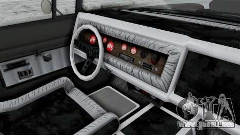 GTA 5 Declasse Tornado Hifi and Hydro IVF para visión interna GTA San Andreas