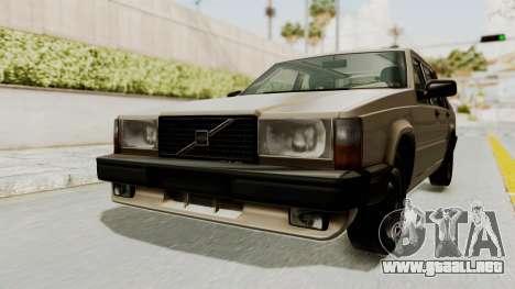 Volvo 740 para la visión correcta GTA San Andreas