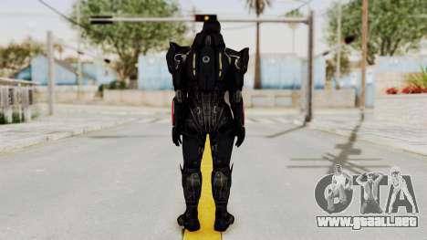 Mass Effect 3 Shepard N7 Destroyer Armor para GTA San Andreas tercera pantalla