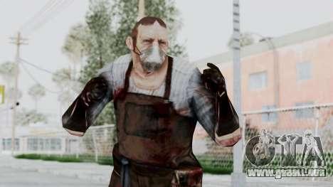 Manhunt 2 - Janitor para GTA San Andreas