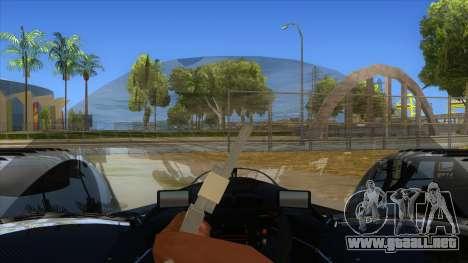 RedBull X2010 para visión interna GTA San Andreas