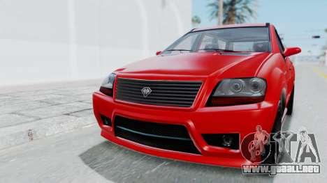 GTA 5 Benefactor Serrano para GTA San Andreas left