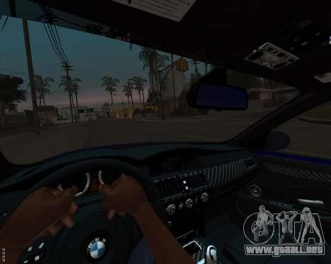 BMW M5 E60 v1.0 para la vista superior GTA San Andreas
