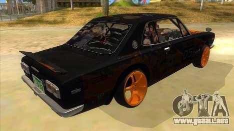 1971 Nissan GT-R Hakosuka para la visión correcta GTA San Andreas