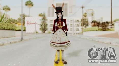 Alice LBL Madness Returns para GTA San Andreas segunda pantalla