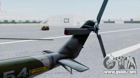 Mi-24V Czech Air Force 7354 para la visión correcta GTA San Andreas