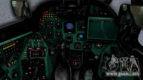 Mi-24V Polish Air Force 727 para la visión correcta GTA San Andreas