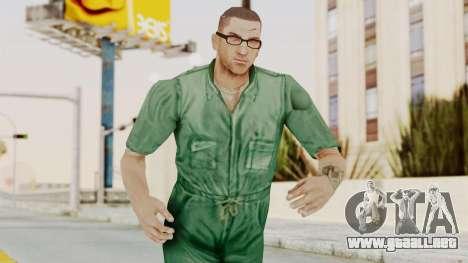 Manhunt 2 - Danny Prison Outfit para GTA San Andreas