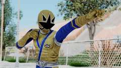 Power Rangers Samurai - Gold para GTA San Andreas