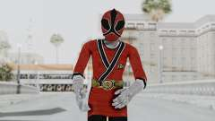 Power Rangers Samurai - Red 2 para GTA San Andreas