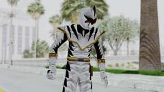 Power Rangers Dino Thunder - White para GTA San Andreas