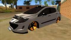 Peugeot 308 Full Sport para GTA San Andreas