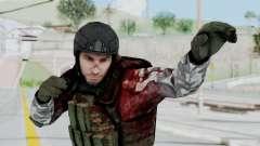 Black Mesa - Wounded HECU Marine v3 para GTA San Andreas