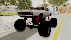 Ford Mustang 1971 Monster Truck para GTA San Andreas