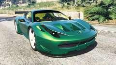 Ferrari 458 Italia GT2 para GTA 5