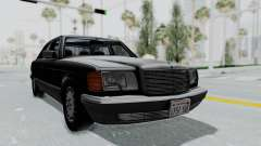 Mercedes-Benz 560SEL 1987 US-spec para GTA San Andreas