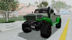 GTA 5 Bravado Duneloader Cleaner Worn IVF para GTA San Andreas