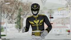 Power Rangers Megaforce - Black para GTA San Andreas