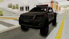 Toyota Hilux 4WD 2015 Georgia Police
