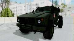 Croatian Oshkosh M-ATV Woodland para GTA San Andreas