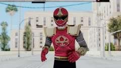 Power Rangers Ninja Storm - Crimson para GTA San Andreas